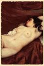 Спящая обнаженная женщина