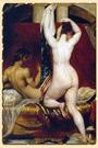 Царь Лидии показывает свою жену придворным